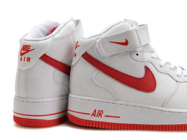 air force 1 homme rouge blanc