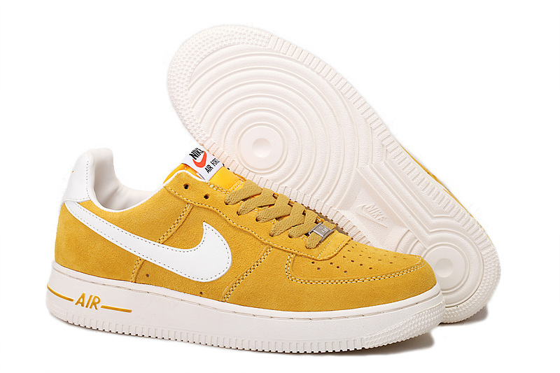 chaussure air force 1 femme jaune
