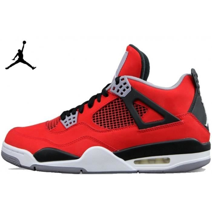 air jordan 4 homme rouge