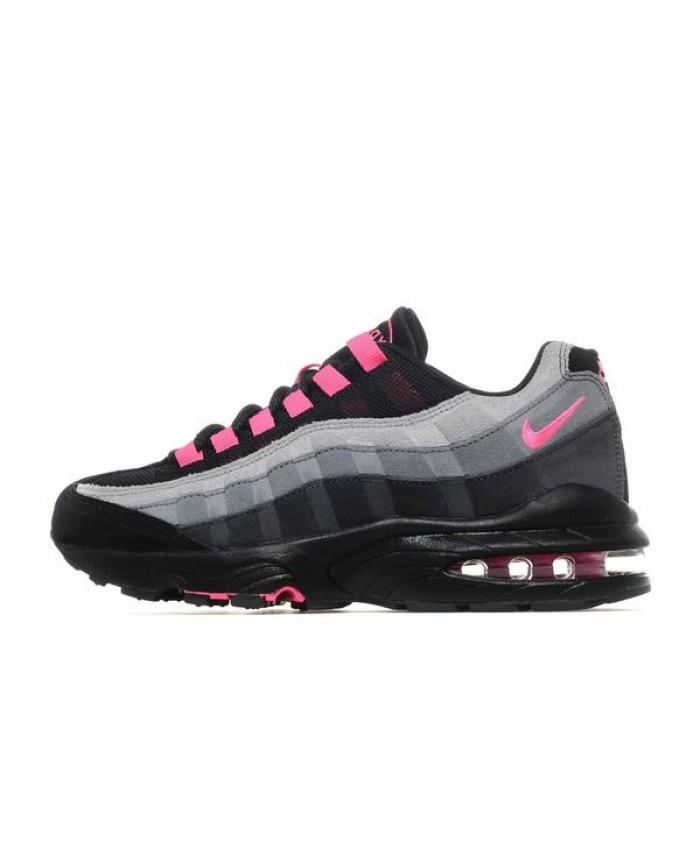 nike air max 95 rose et noir pour femme,Femme Nike Air Max ...