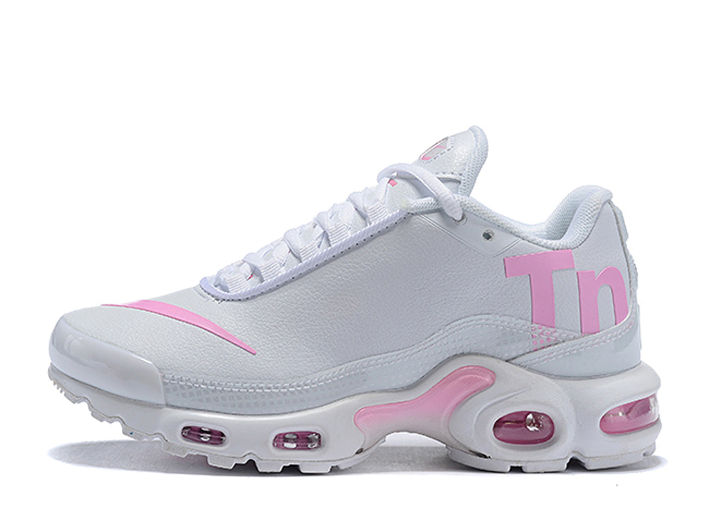 chaussures nike tn blanche